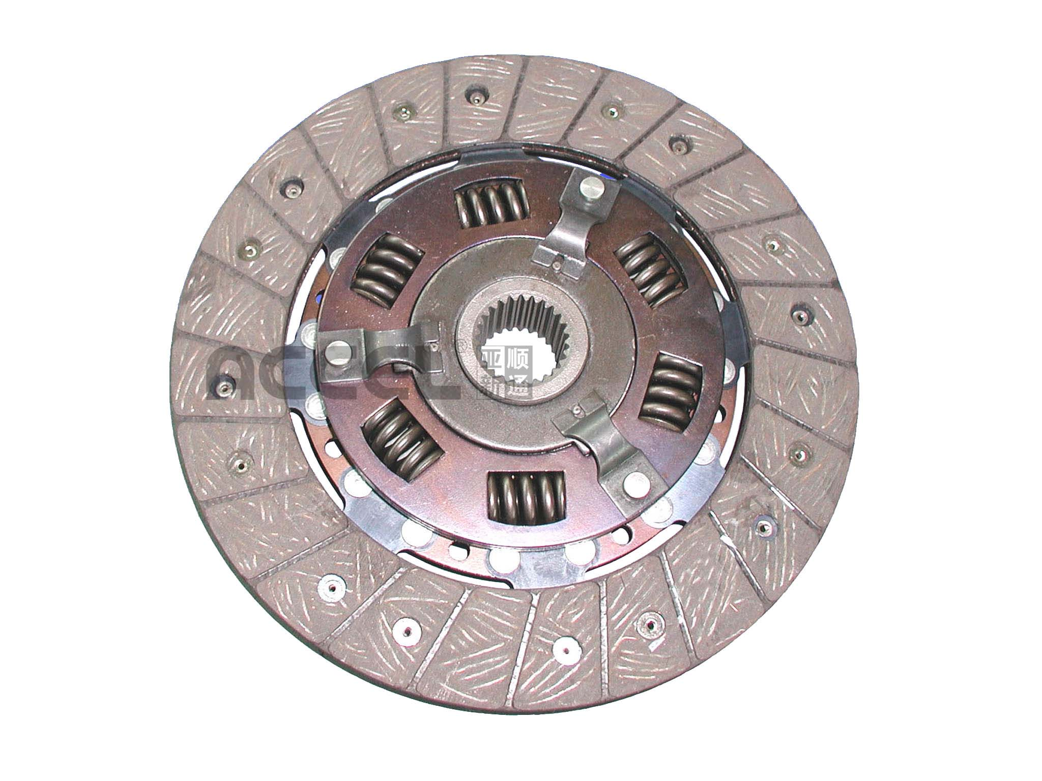 Clutch Disc/OE:1861 631 001/215*145*25*28.2/ACE-059/FORD/CL0416
