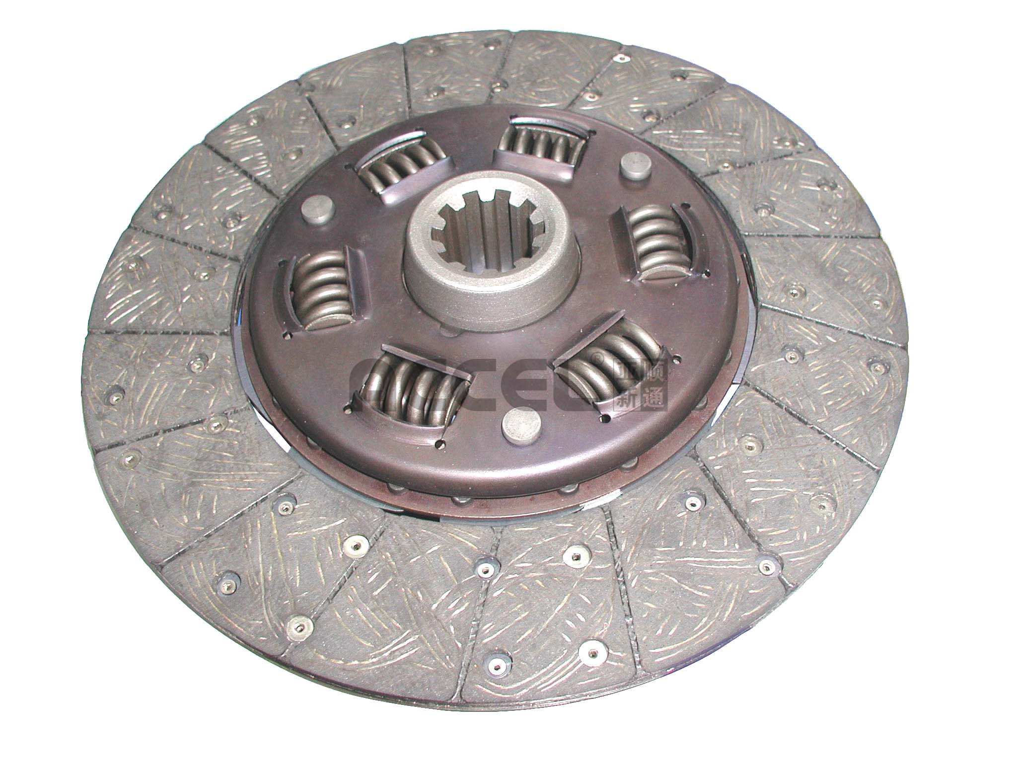 Clutch Disc/OE:NULL/302*190*10*38.1/ABF-010/BEDFORD/CL0864