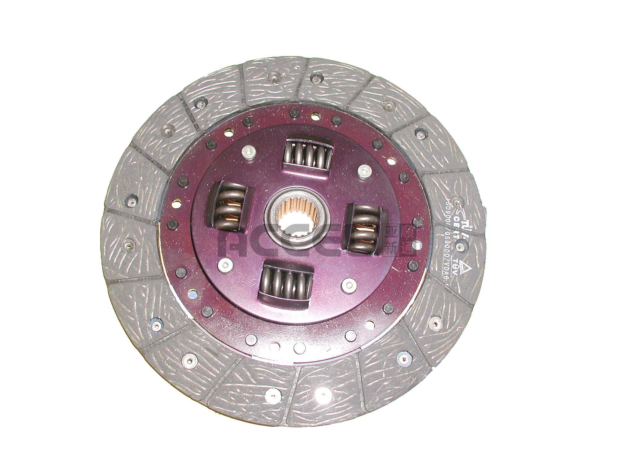 Clutch Disc/OE:NULL/212*150*20*22/AHC-017/HONDA/CL1035