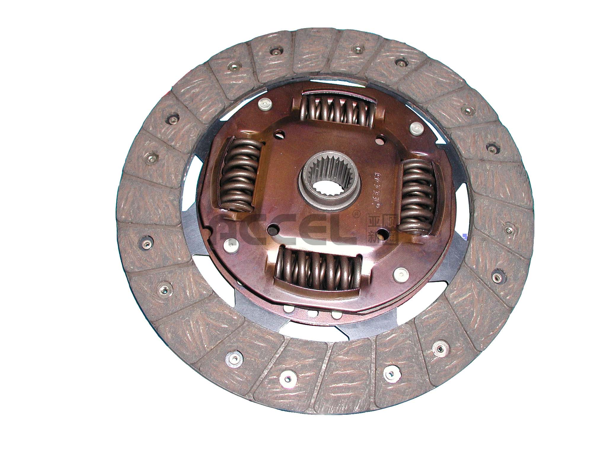 Clutch Disc/OE:1862 535 001/210*145*24*20.6/AG-033TS/CHINESE VEHICLES/CL0728/321 0025 11