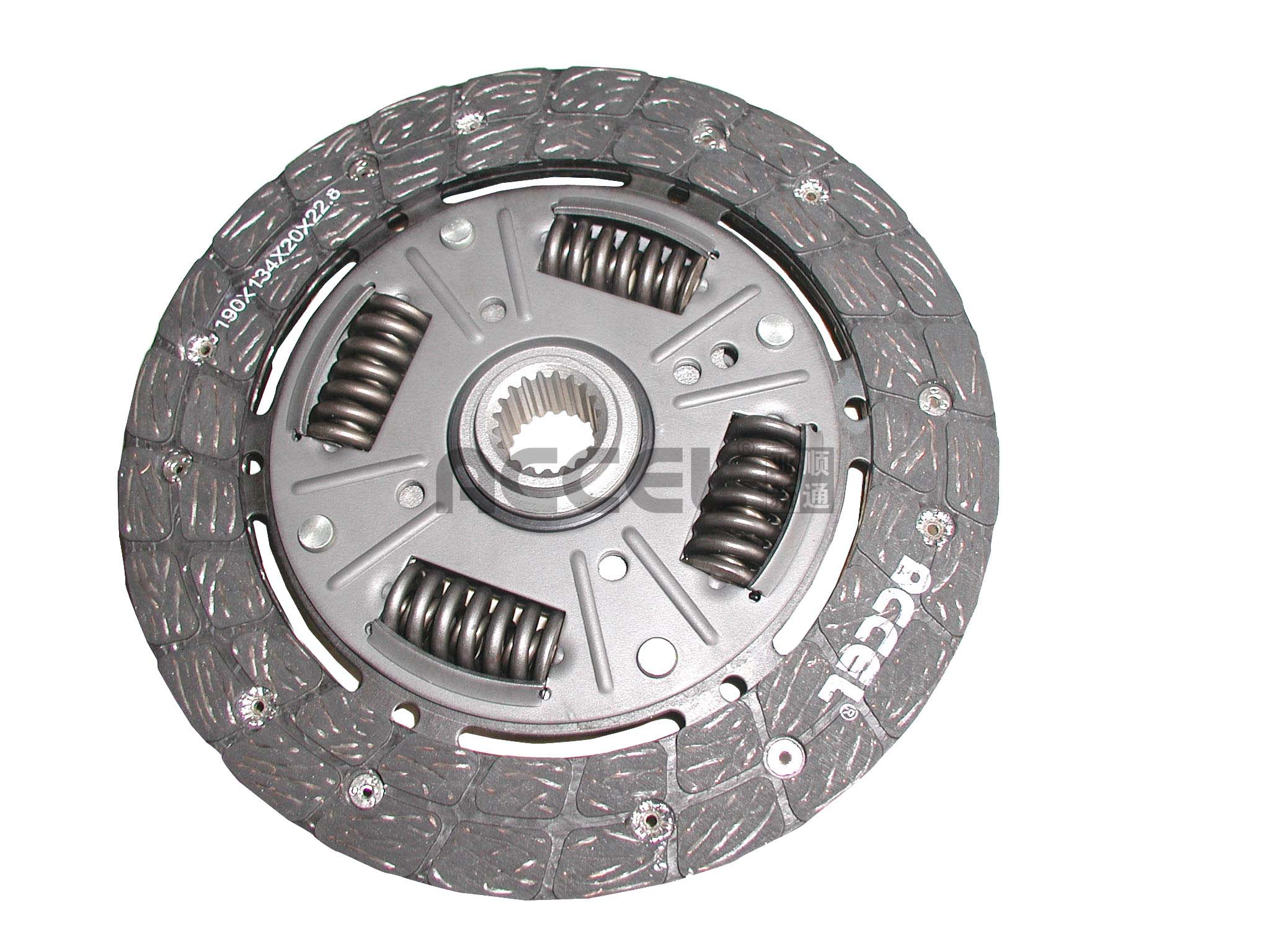 Clutch Disc/OE:1861 696 146/190*135*20*22.8/ARS-004/RUSSIA Car/CL1015