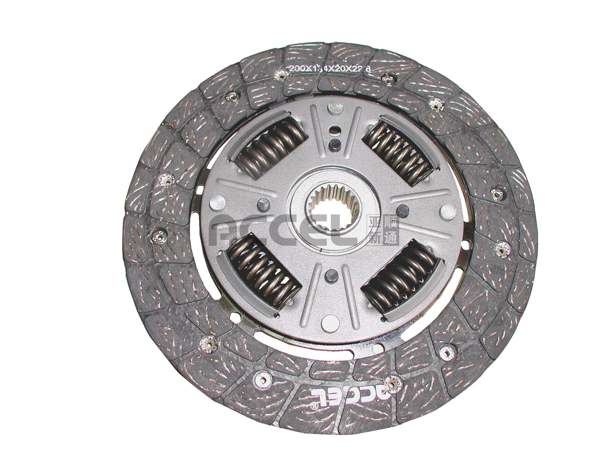 Clutch Disc/OE:1878 022 941/200*135*20*22.8/ARS-001/RUSSIA Car/CL1061