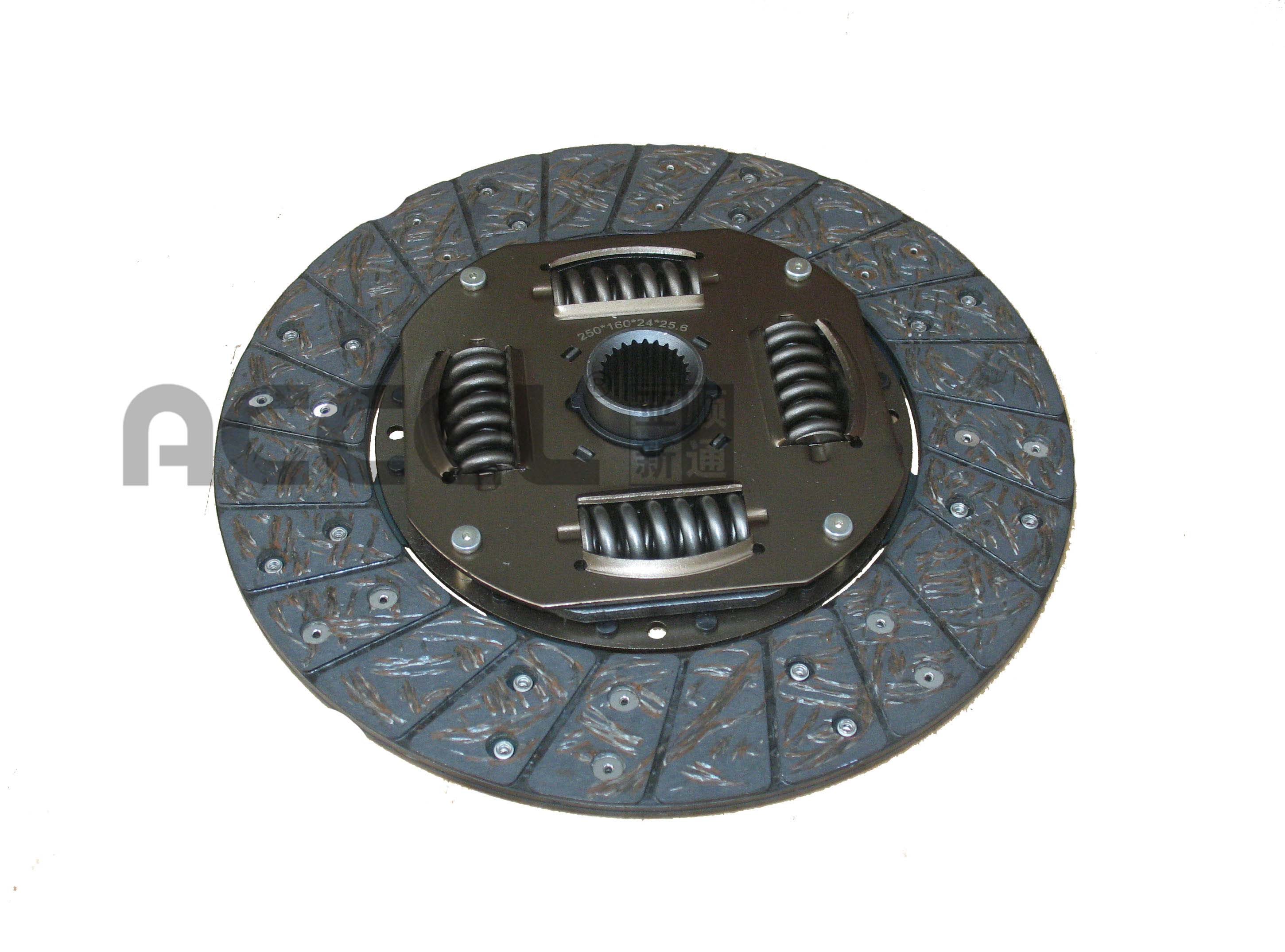 Clutch Disc/OE:/250*160*24*25.6/AG-195TS/CHINESE VEHICLES/CL1976