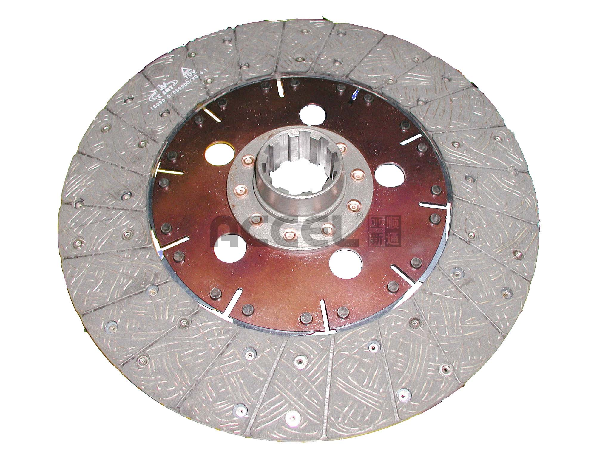 Clutch Disc/OE:NULL/302*190*10*44.6/AV-015/AgriculturalVehicles/CL0975